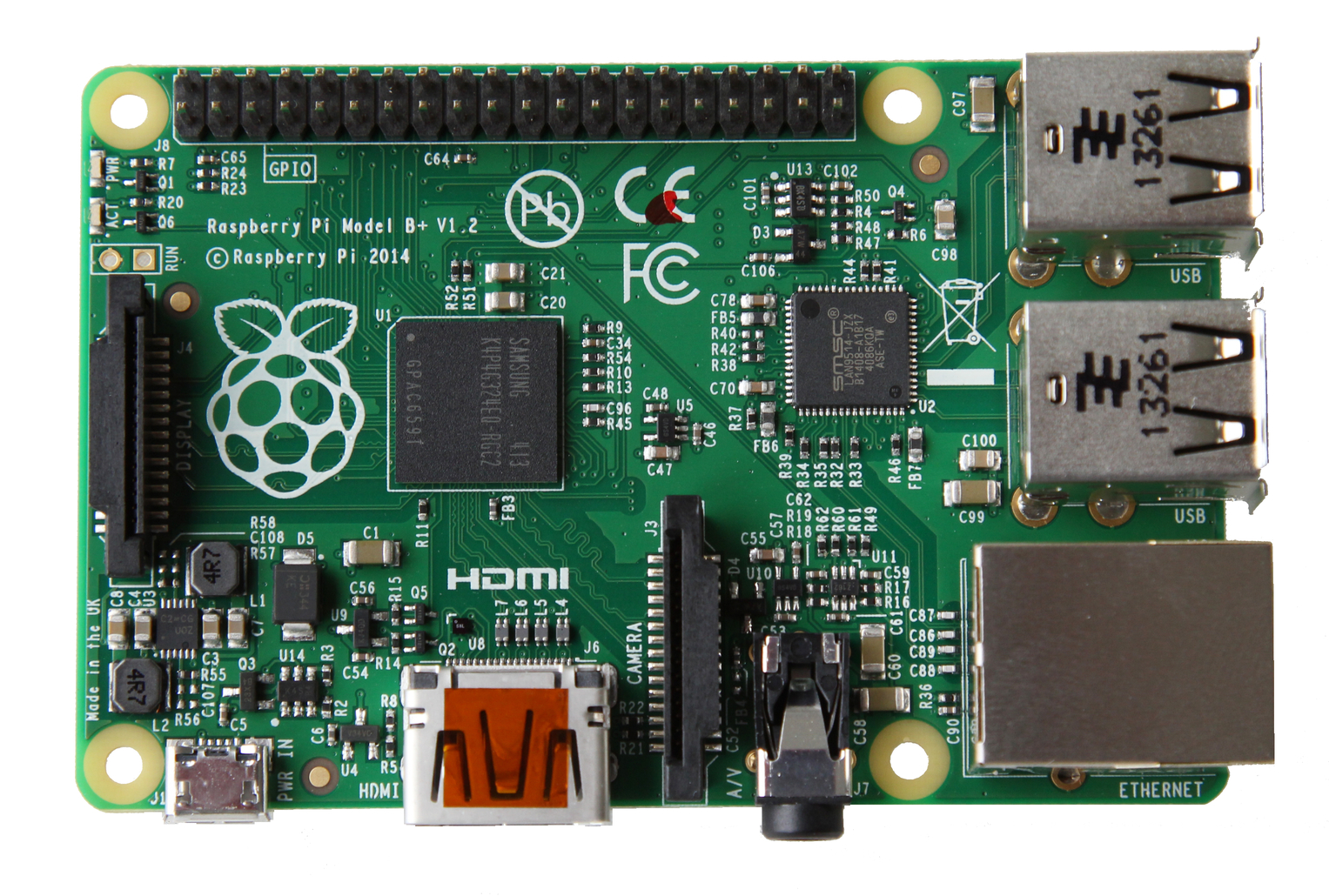 Raspberry Pi Model B+ (Made in China)